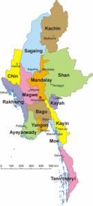 MyanmarStatesMap